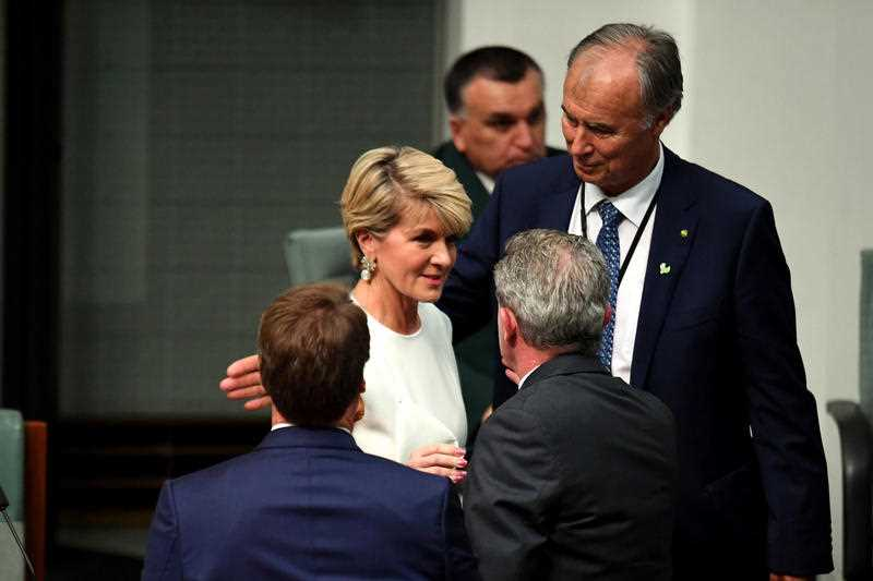 'End of an era': Bishop announces her resignation from Parliament