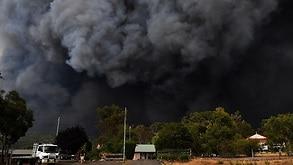 The Green Wattle Creek Fire in December.