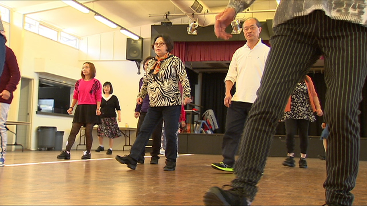Community Dance group over 55s Granville - SBS