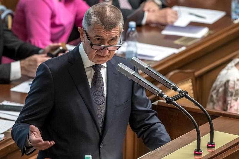 Czech Prime Minister Andrej Babis.