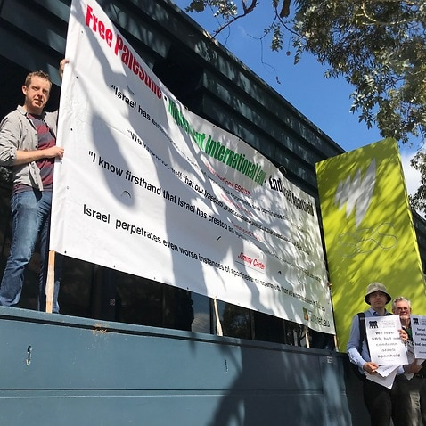 BDS Australia calling for a boycott of Eurovision being held in Israel.