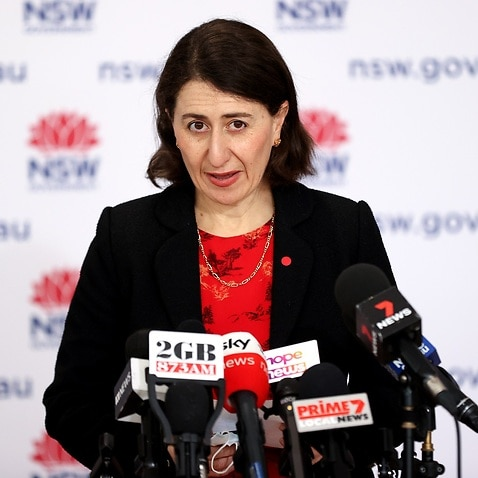 Premier Gladys Berejiklian Gives COVID-19 Update As Restrictions Are Eased For Fully Vaccinated Residents