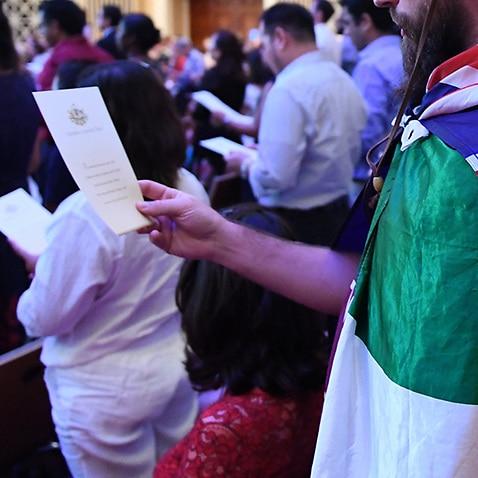 Australian citizenship recipients