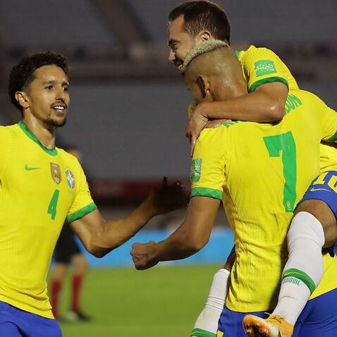 Uruguay v Brazil - South American Qualifiers for Qatar 2022