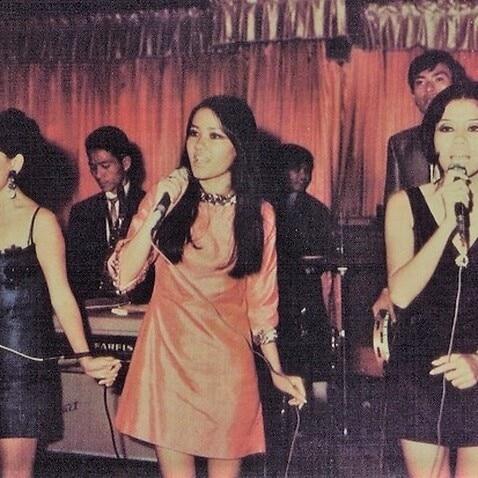 Một ban nhạc trẻ trước 1975