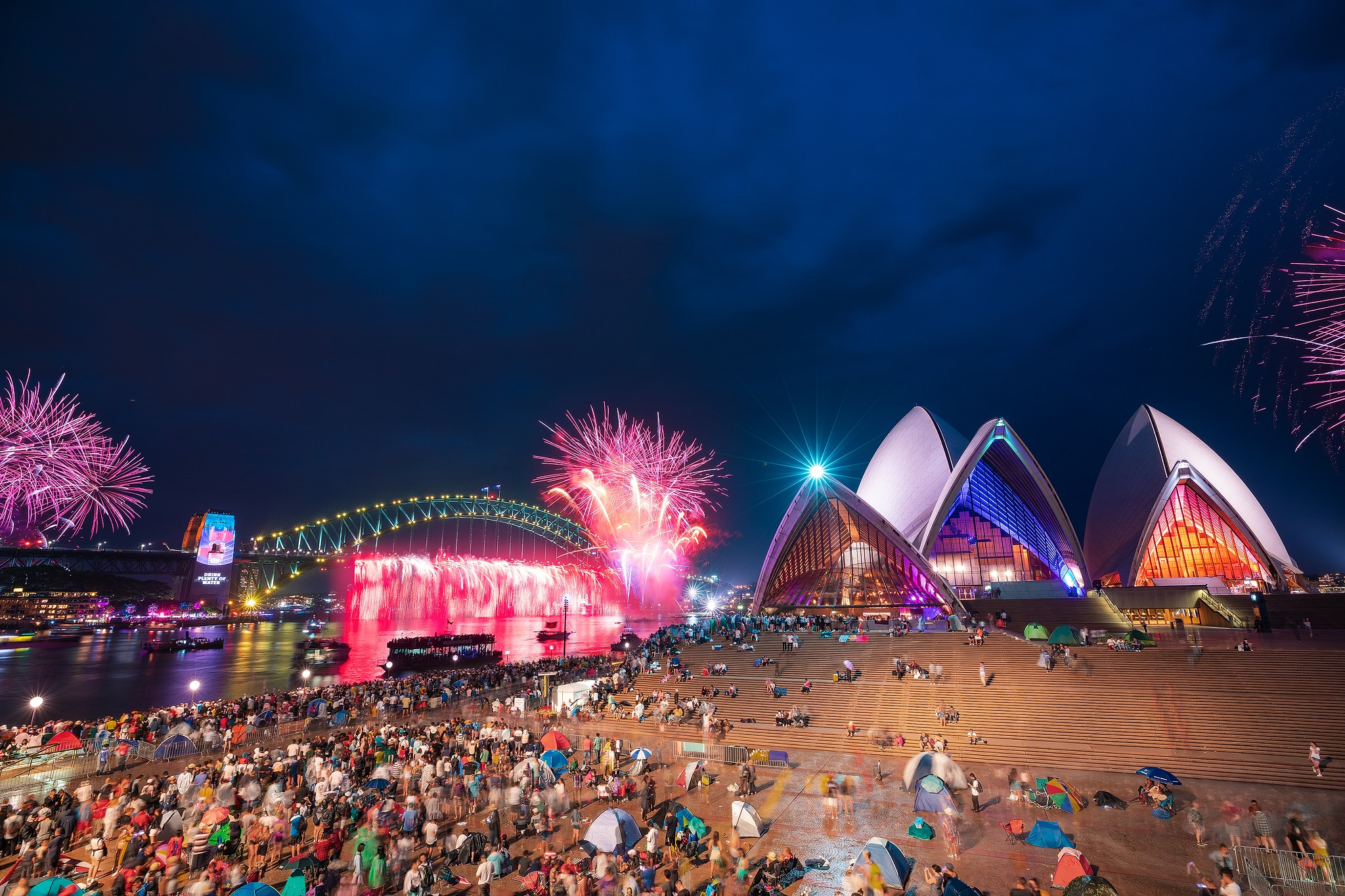 Sydney will welcome a new decade with a symphony of light, colour and sounds.