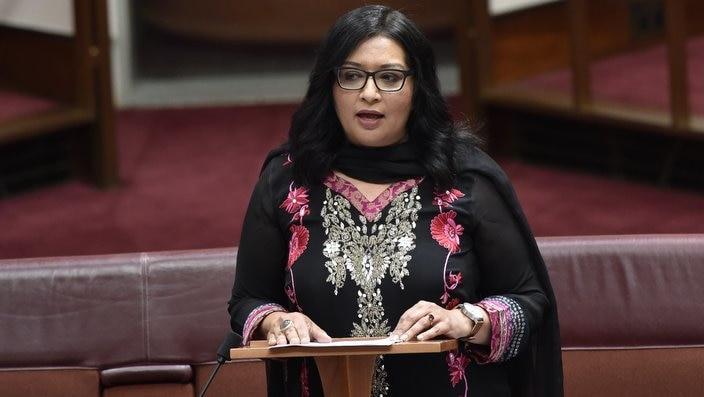 Senator Mehreen Faruqi, the first ever Punjabi migrant in Australia's federal parliament