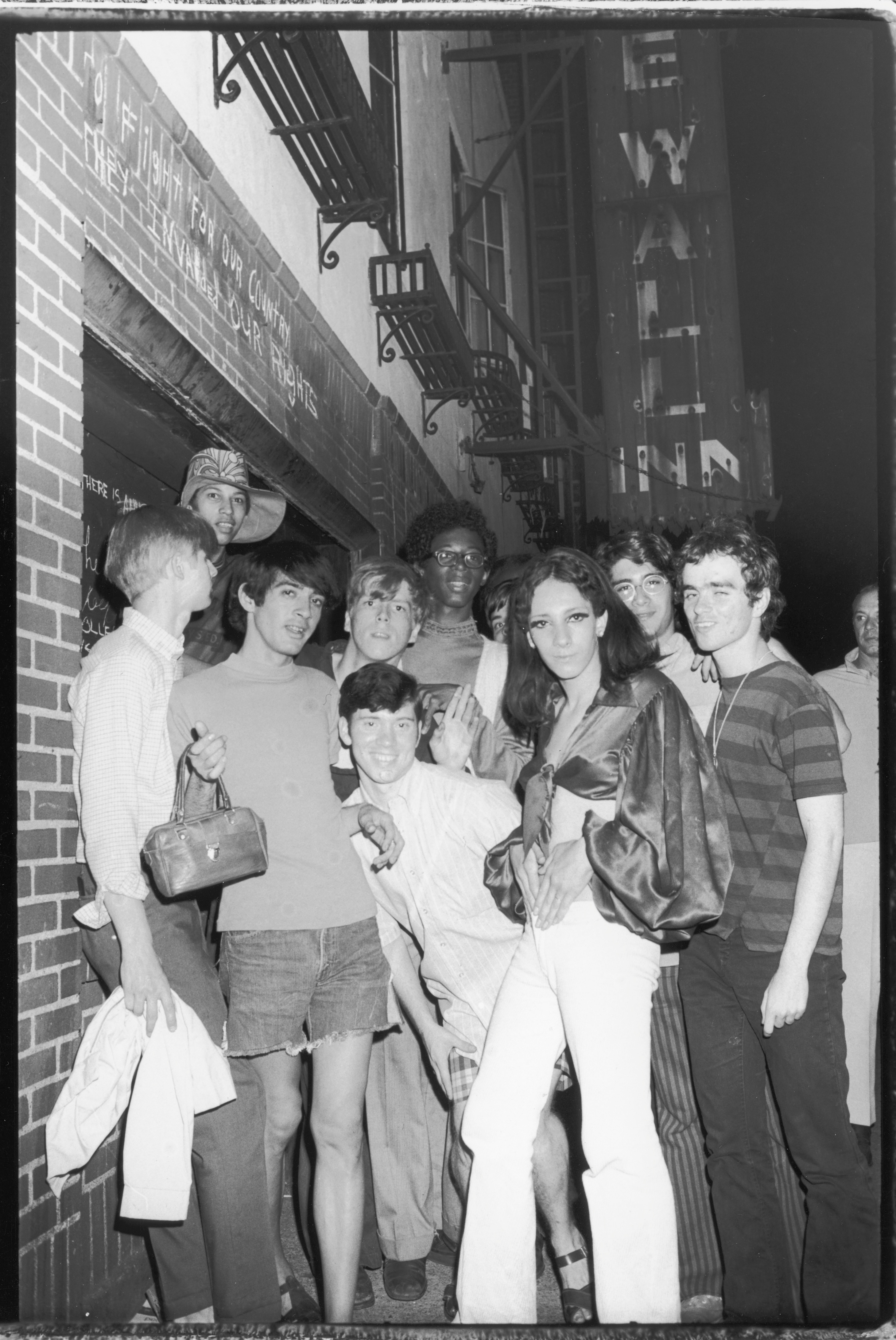 Patrons of the Stonewall Inn