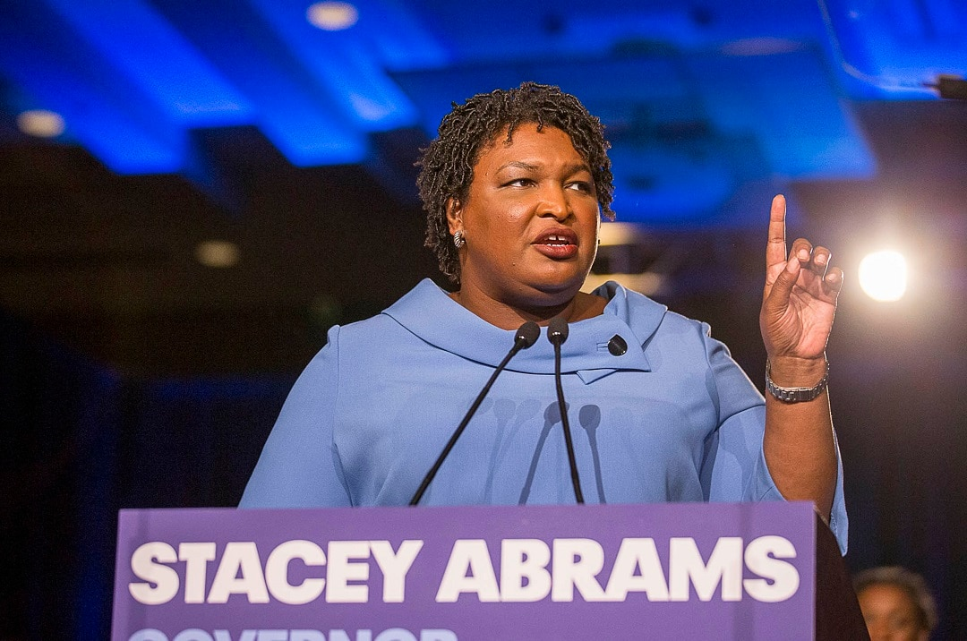 Stacey Abrams narrowly lost her bid to become the governor of Georgia.