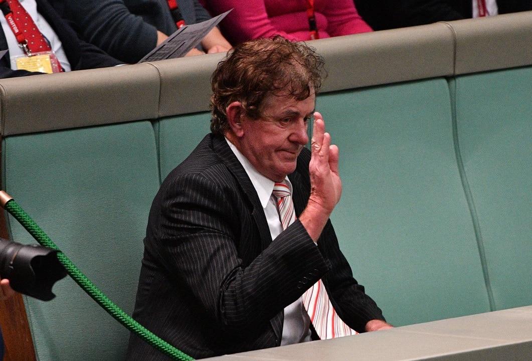 Former Speaker Peter Slipper.