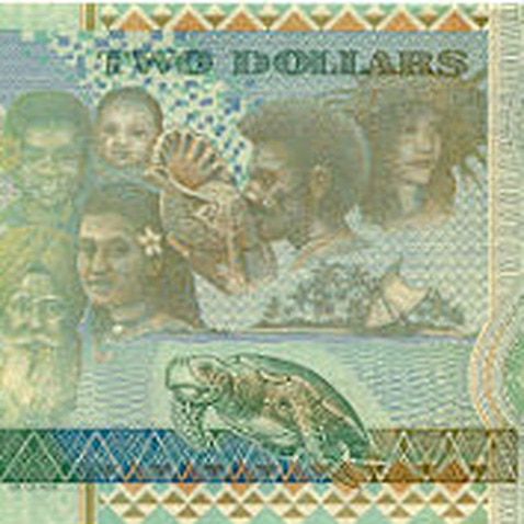 Sikh man featured on a Fijian note