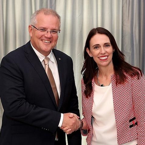 PM Scott Morrison met his NZ counterpart Jacinda Ardern in Auckland for annual talks.