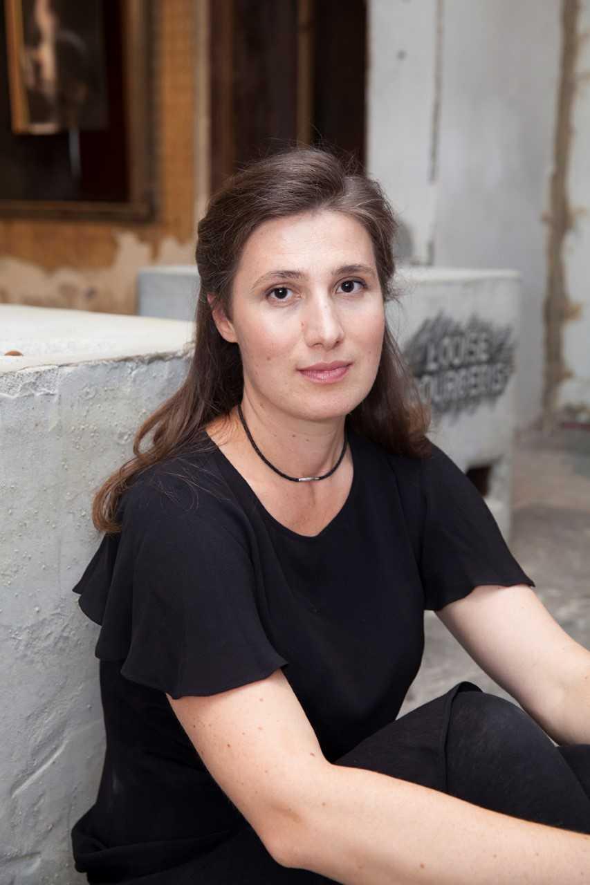 Artist Nina Sanadze