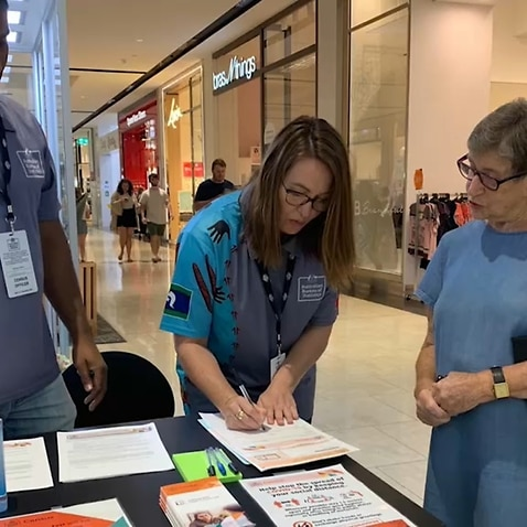 Census community engagement managers in shopping centres