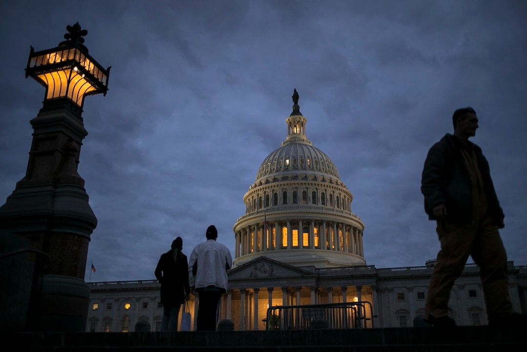 A night of high drama finally comes to an end in the US Congress.