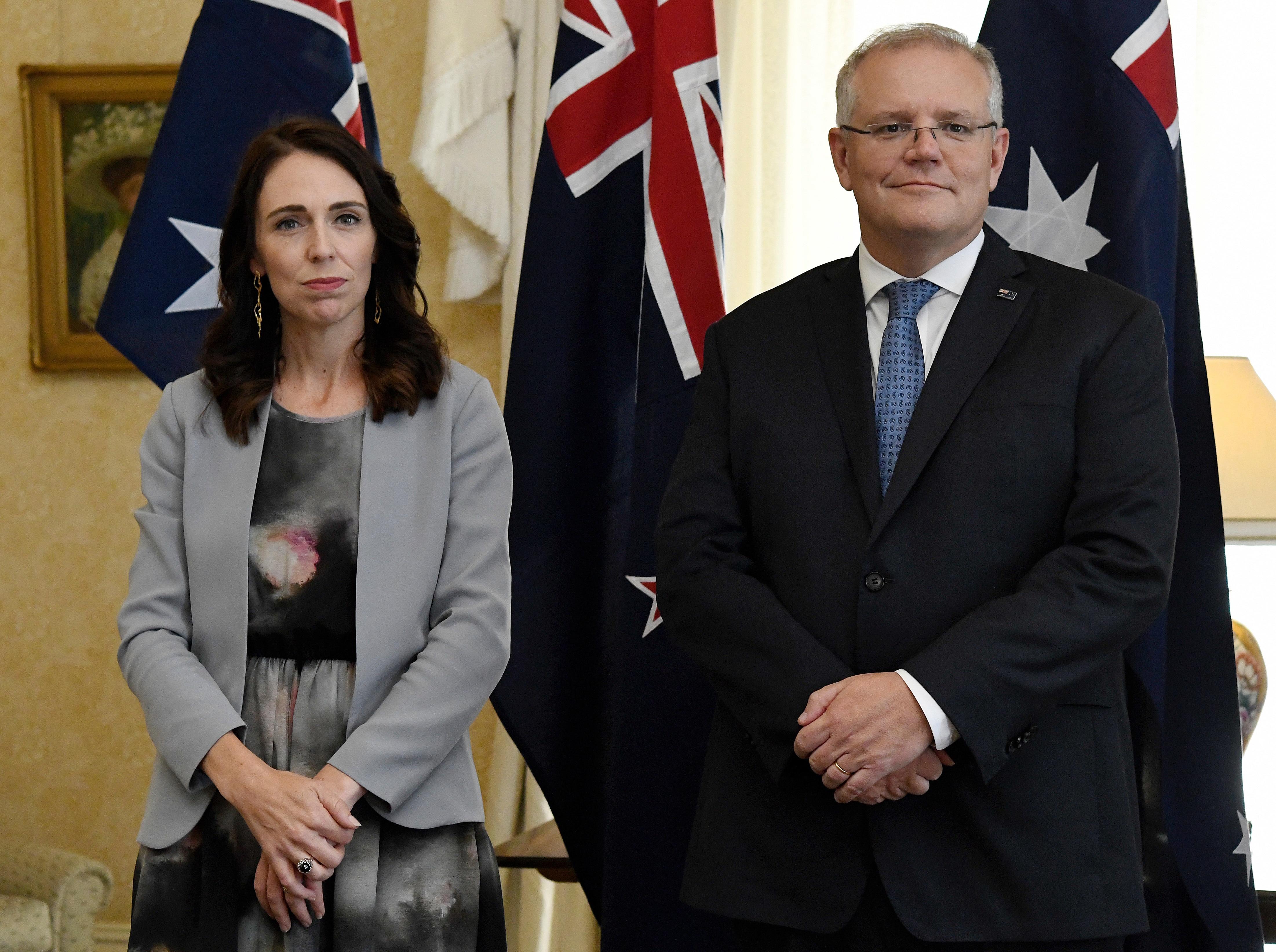 NZ Prime Minister Jacinda Ardern will join Australian PM Scott Morrison in Tuesday's National Cabinet meeting.