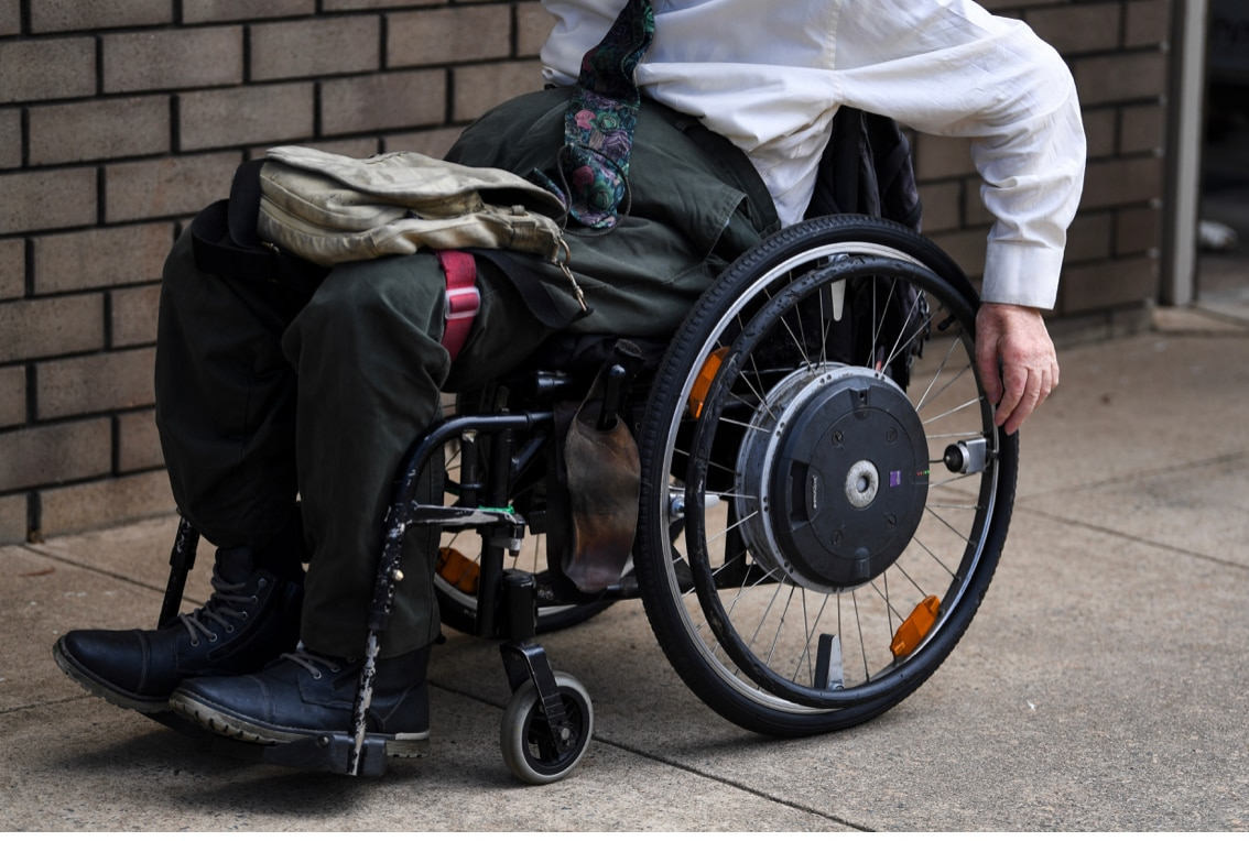 More than half of Australia's prison population had some kind of disability, according to the report.