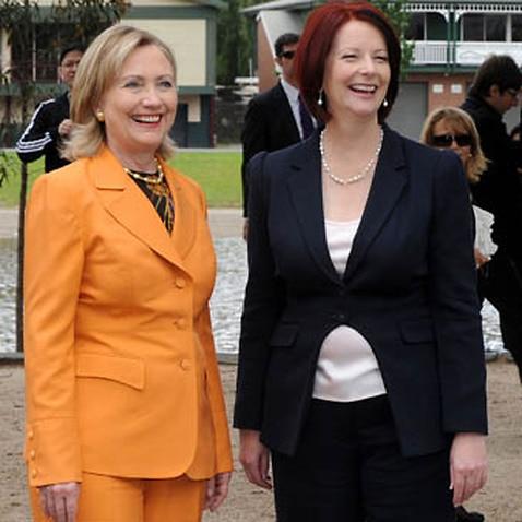 Hillary Clinton and Julia Gillard will be teaming up.