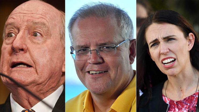 Image for read more article 'Scott Morrison slams Alan Jones' call to 'shove sock down throat' of Jacinda Ardern'