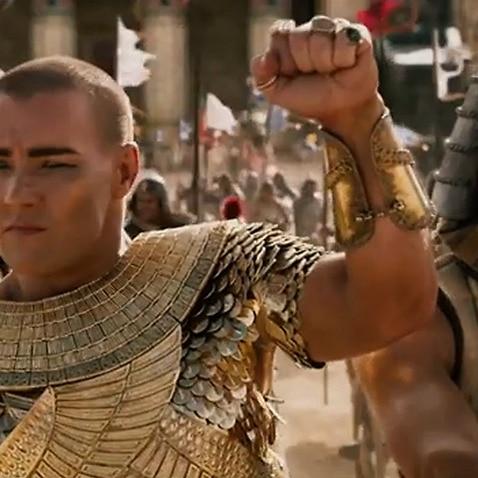 The movie Exodus, staring Australian Joel Edgerton, has courted controversy (20th Century Fox)