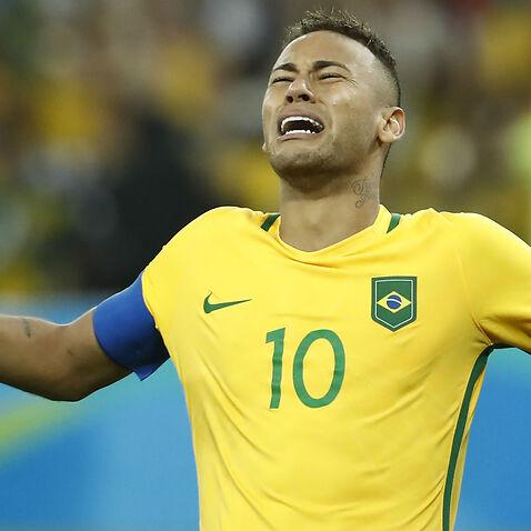 Brazil Neymar Olympics Germany