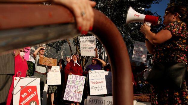 Alabama protest