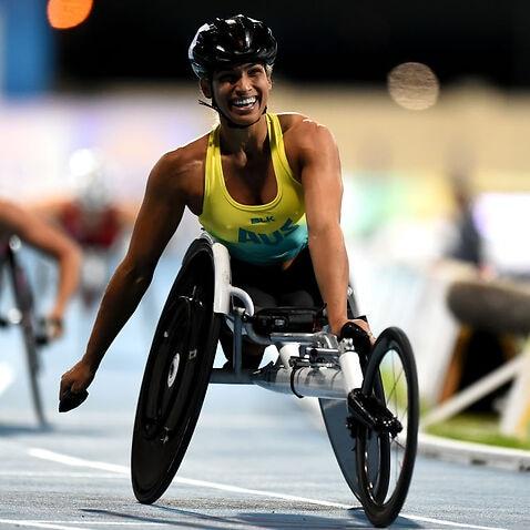 Madison de Rozario competing in Dubai last year.
