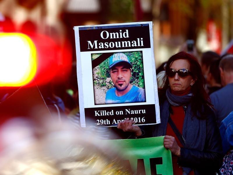 Iranian refugee Omid Masoumali died in a Brisbane hospital after setting himself alight on Nauru.