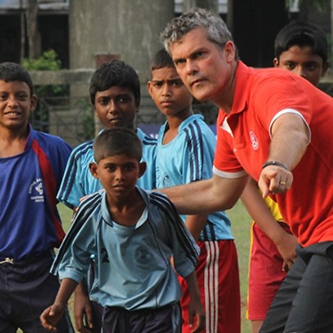 Scott O'Donell during his time as AIFF technical director