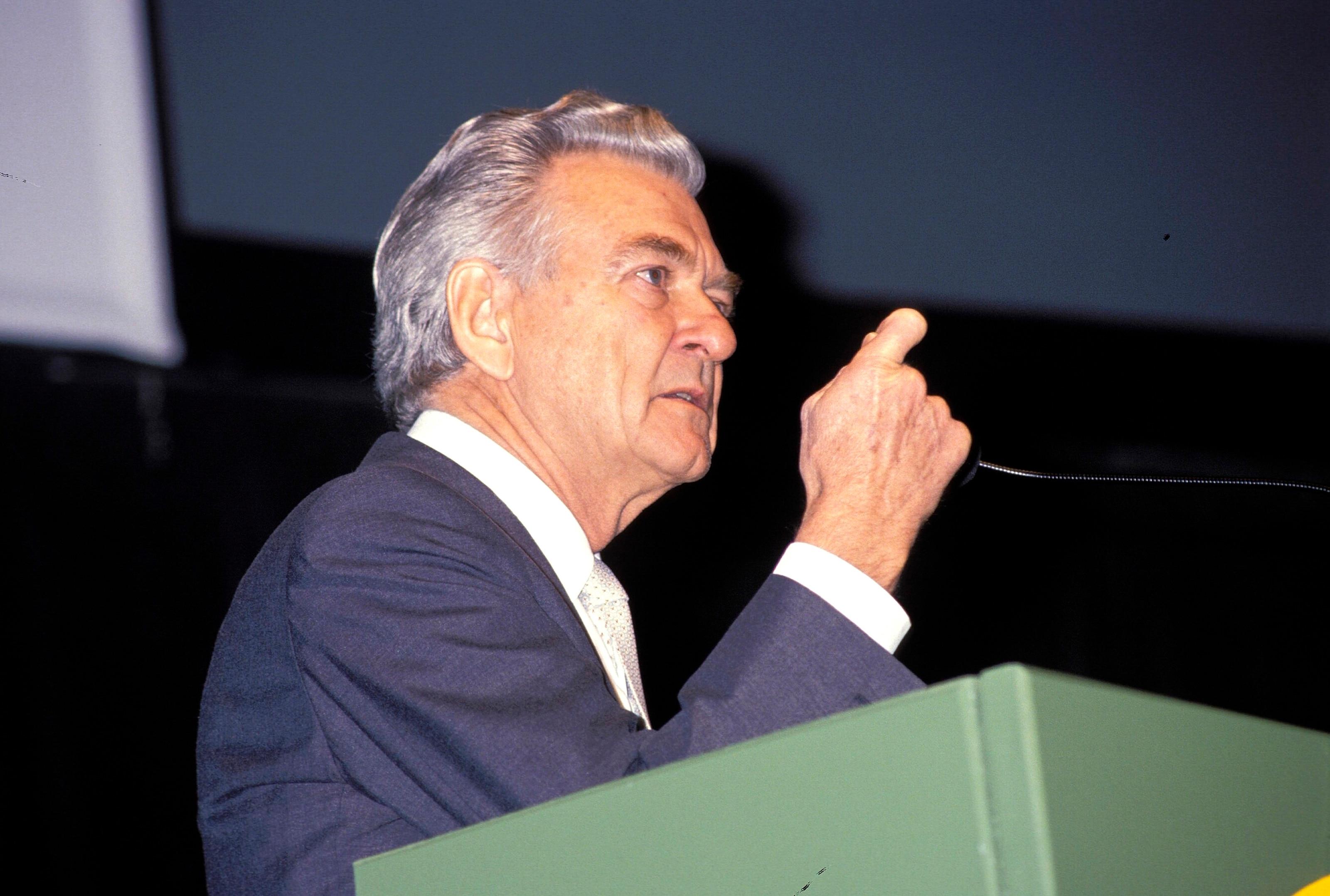Bob Hawke, Prime Minister of Australia (1983 - 1991)