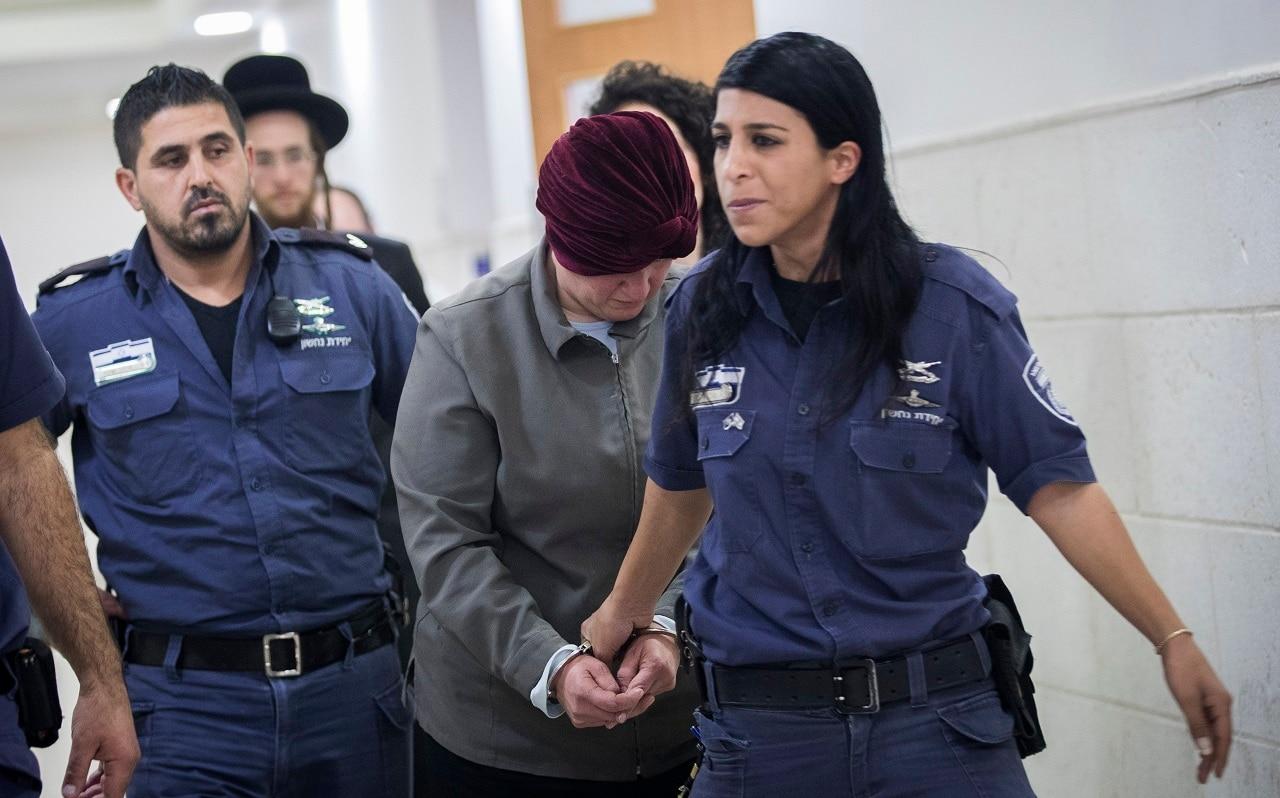 Malka Leifer appears in court in 2018.