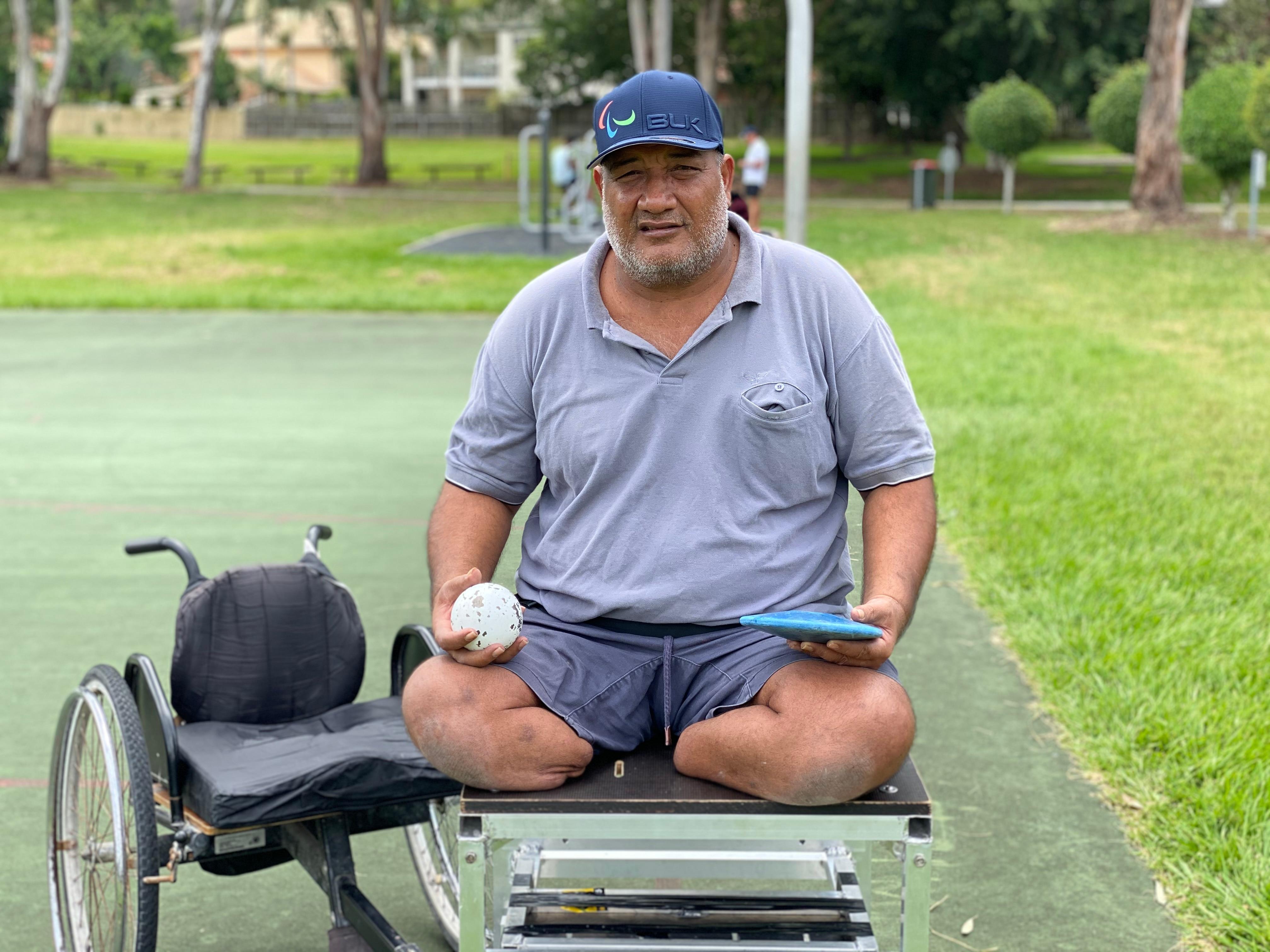 Karea Tioti is set to be Kiribati's first Paralympian.