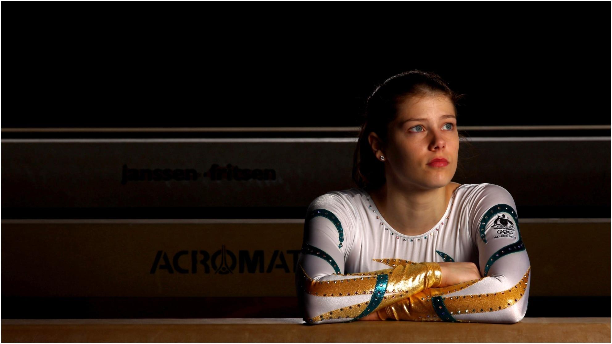 Georgia Bonora of Australia poses during a portrait session at Waverley Gymnastics Centre on August 17, 2010 in Melbourne, Australia.