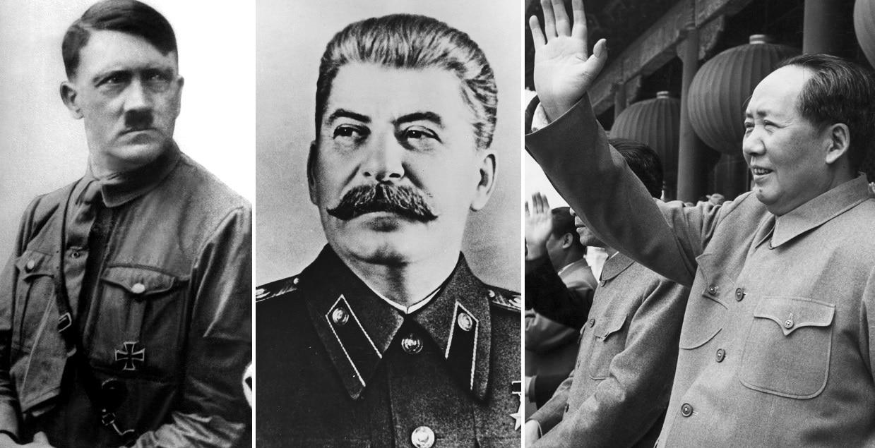 Eric Abetz said Adolf Hitler, Joseph Stalin and Mao Zedong would