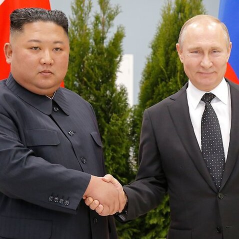Russia's President Vladimir Putin sasy he will act as a go-between for North Korean leader Kim Jong-un and explain his position to US President Donald Trump.