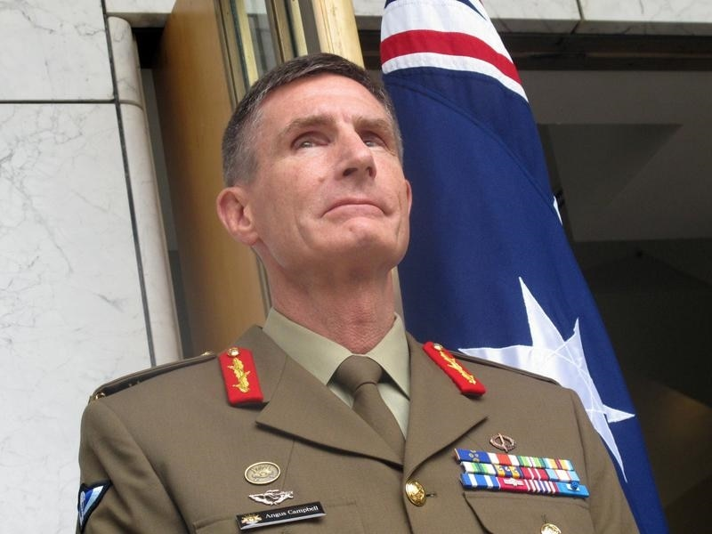 Defence chief Angus Campbell.