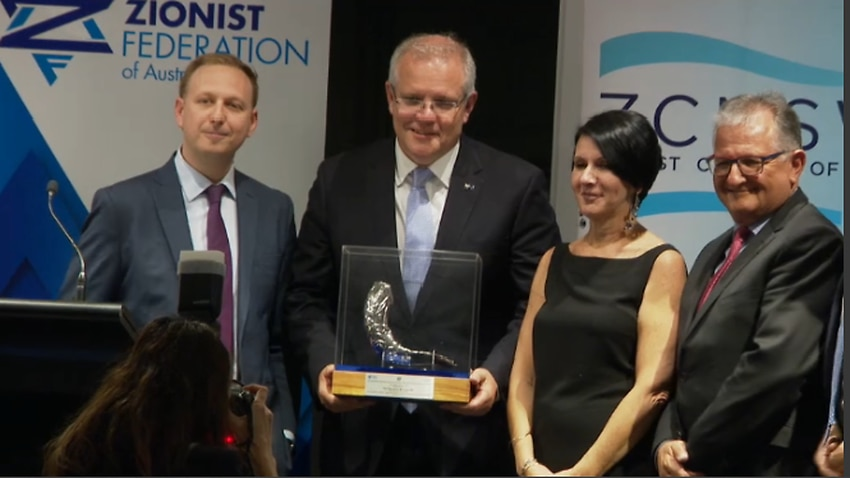 Jerusalem Prize: Scott Morrison warns of the United Nations' seeping 'anti-Semitism'