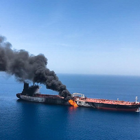Iran rejects U.S. blame for tanker attacks in Gulf of Oman
