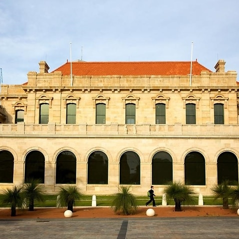 A picture of the Parliament of Western Australia.