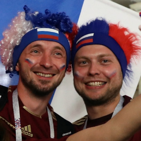 Russian fans sad but proud after World Cup exit