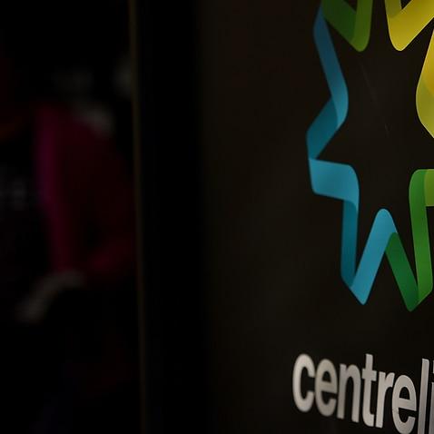 Centrelink signs in Melbourne