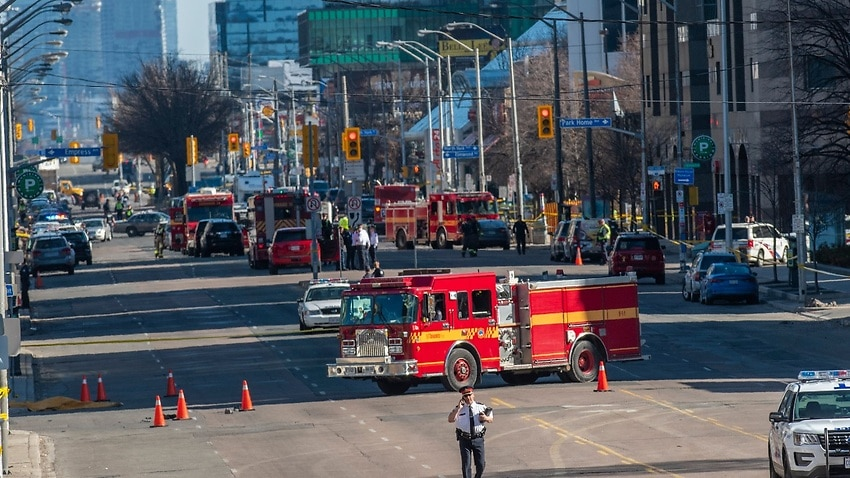 Image for read more article ''I heard screaming': Terrified witnesses recount Toronto van attack'