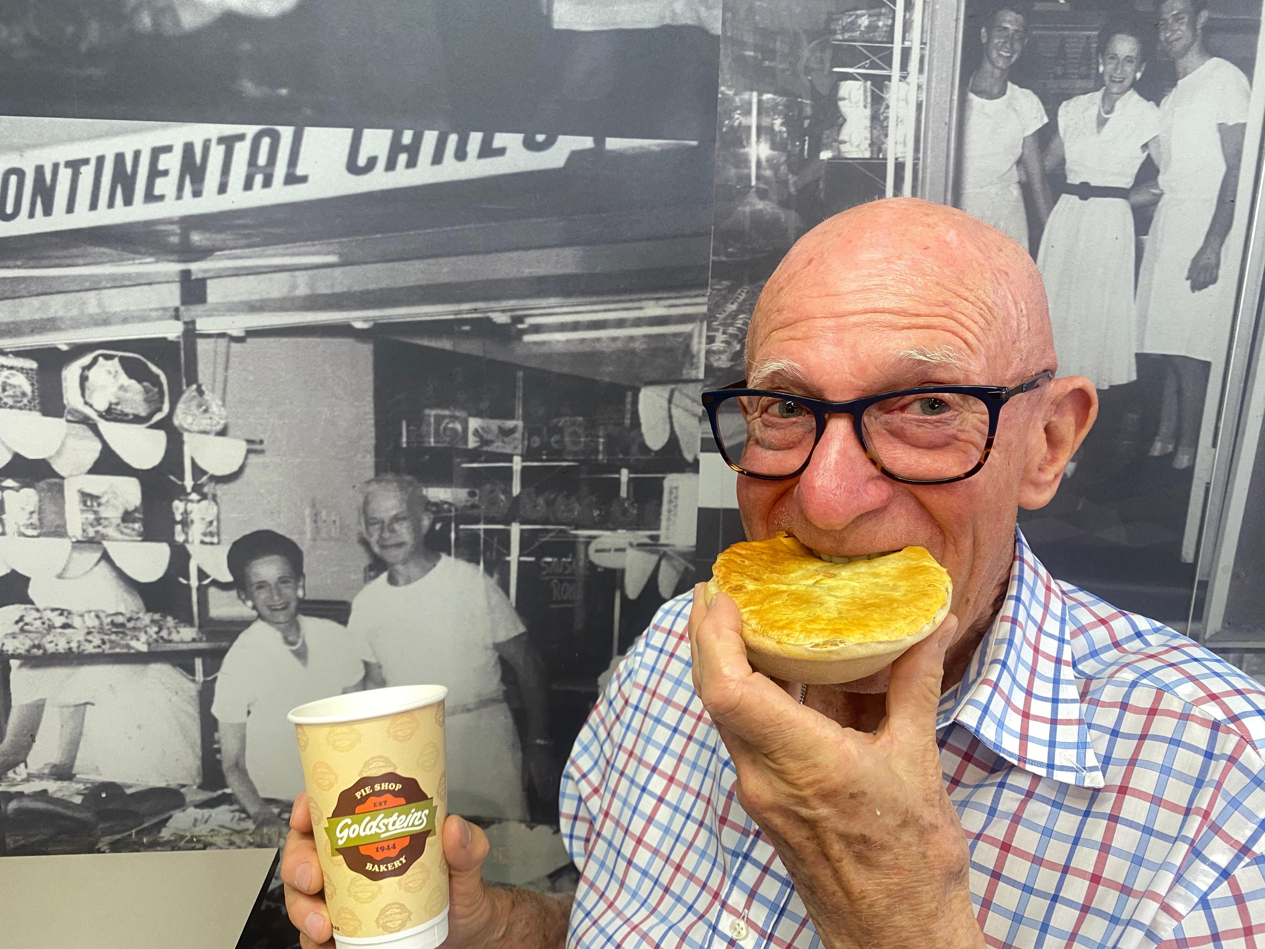 John Goldstein King of Meat Pies Gold Coast German Jewish