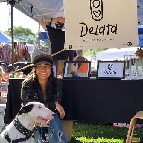 Andrea Sarmiento (29 años) fundadora de DeLata.