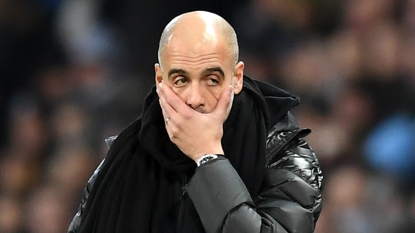 Guardiola wants Man City to 'accept the reality'