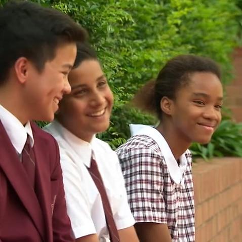 Students at Holy Spirit Catholic College, Lakemba