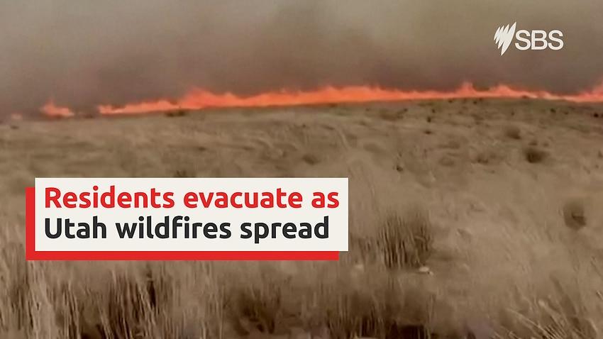 Wildfires in Utah burn more than 10,000 acres in Saratoga Springs