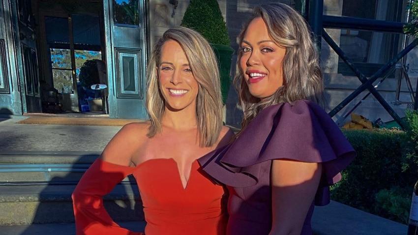 Joanne Ellias and Jessica Pawa