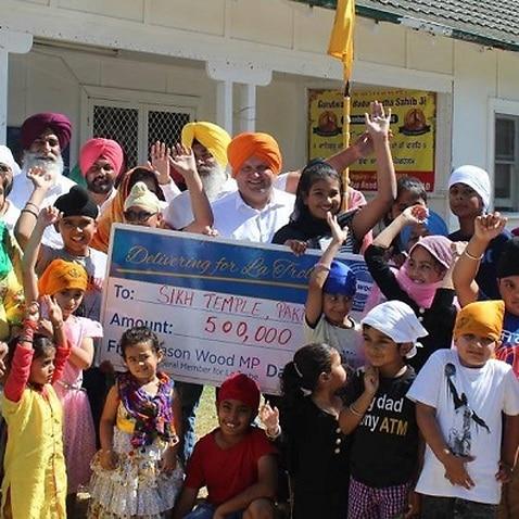 Pakenham Gurdwara funding