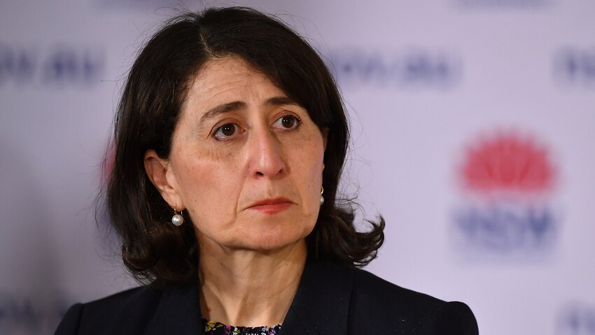 NSW Premier Gladys Berejiklian speaks to the media during a press conference in Sydney, Thursday, September 30, 2021. NSW has recorded 941 locally acquired COVID-19 cases in the latest 24-hour reporting period. (AAP Image/Joel Carrett) NO ARCHIVING